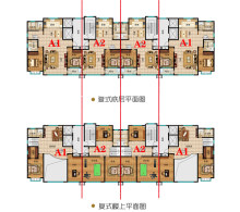 E区A1复式:3#楼