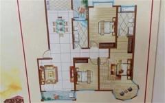 (密州)鑫辉华庭3室2厅2卫125m²毛坯房