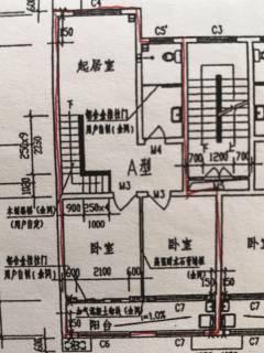 (密州)裕泰祥公馆4室2厅2卫166m²简单装修