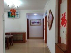龙源教师公寓套三,南向客厅,113m²有付房,精装修,73万