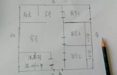 (龙都)正大文苑2室2厅1卫81.79m²精装修