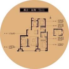 (密州)新城·荣樾大都会3室2厅2卫