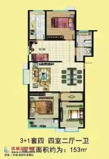 (龙都)杨春龙郡4室2厅2卫