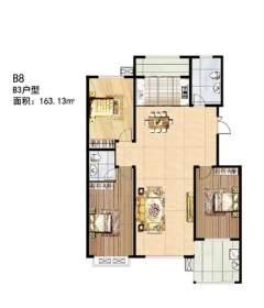 (龙都)龙都新苑3室2厅2卫