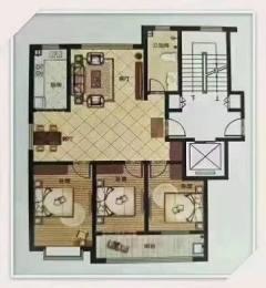 鑫城·金源府邸三室两厅一卫120m²带22m²附房93万