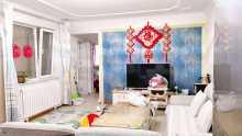 (密州)繁荣尊府2室1厅1卫63.8万84m²简单装修出售