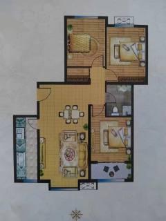 (龙源双语学区) 诚通·香榭里 3室2厅1卫 59.7万  115m² 毛坯房出售
