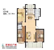 多层F2#楼C2户型