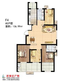 多层F4#楼A5户型