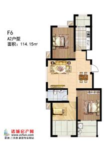 多层F6#楼A2户型